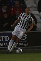 Jim Goodwin in the St Mirren v Ayr United Scottish Communities League Cup match played at St Mirren Park, Paisley on 29.8.12.