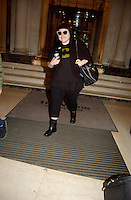 BETH DITTO QUITTE SON HOTEL A PARIS.<br />