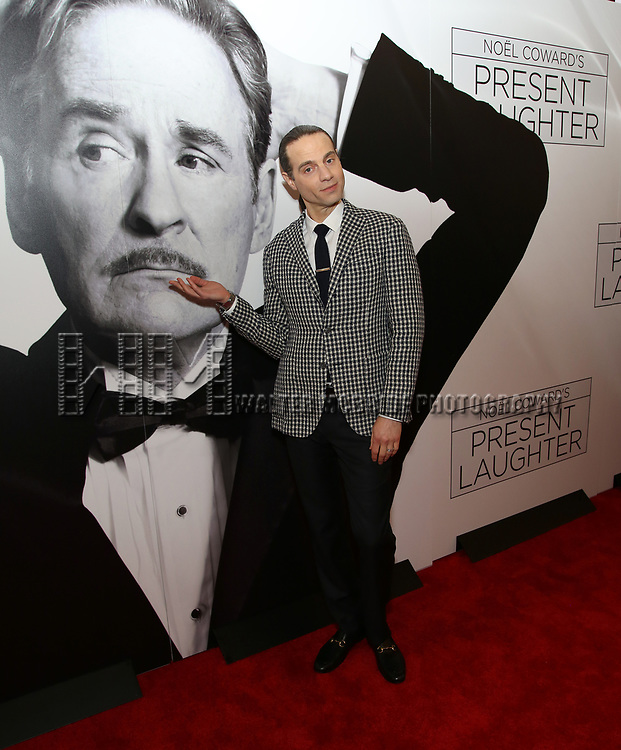Jordan Roth attends the Broadway Opening Night Performance of 'Present Laughter' at St. James Theatreon April 5, 2017 in New York City