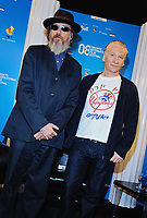 "07 September 2008 - Toronto, Ontario, Canada. Director Larry Charles and Bill Maher attend the ""Religulous"" press conference during the 2008 Toronto International Film Festival held at Sutton Place Hotel. Photo Credit: Brent Perniac/AdMedia"