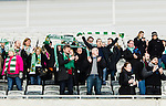 Stockholm 2015-03-14 Bandy Bronsmatch Hammarby IF - Villa Lidk&ouml;ping BK :  <br /> Hammarbys publik under matchen mellan Hammarby IF och Villa Lidk&ouml;ping BK <br /> (Foto: Kenta J&ouml;nsson) Nyckelord:  Tele2 Arena SM Brons Bronsmatch Tredjepris herr herrar Hammarby HIF Bajen Villa Lidk&ouml;ping VLBK supporter fans publik supporters
