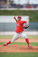 Philadelphia Phillies pitcher Luis Ramirez (72) during a Minor League Spring Training game against the Toronto Blue Jays on March 30, 2018 at Carpenter Complex in Clearwater, Florida.  (Mike Janes/Four Seam Images)