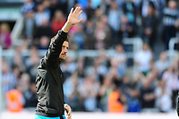 Martin Dubravka of Newcastle United waves to fans during Newcastle United vs Chelsea, Premier League Football at St. James' Park on 13th May 2018