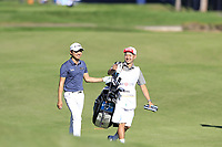 Jeunghun Wang (KOR) on the 7th hole during Saturday's Round 3 of the 2018 Turkish Airlines Open hosted by Regnum Carya Golf &amp; Spa Resort, Antalya, Turkey. 3rd November 2018.<br /> Picture: Eoin Clarke | Golffile<br /> <br /> <br /> All photos usage must carry mandatory copyright credit (&copy; Golffile | Eoin Clarke)