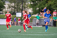 Boston, MA - Saturday July 01, 2017: Tori Huster during a regular season National Women's Soccer League (NWSL) match between the Boston Breakers and the Washington Spirit at Jordan Field.