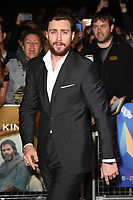 "Aaron Taylor Johnson<br /> arriving for the London Film Festival screening of ""Outlaw King"" at the Cineworld Leicester Square, London<br /> <br /> ©Ash Knotek  D3446  17/10/2018"