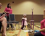 Sophia with her mini supreme and other new awards and her family. The Tu Tu Glitz Pageant, Atlanta, Georgia.
