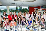 Siobhan O'Shea, kilcummin enjoying her hen party at the Kingdom Grayhound stadium on Friday with friends