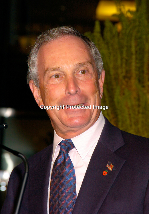 Mayor Michael Bloomberg..at the party given by the NYC Host Committee and Time Warner to welcome the Media to the Republican Convention on August 28. 2994