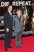 "Film producers Tom Lassally and Erwin Stoff. First World Premiere of the new Tom Cruise and Emily Blunt movie ""Edge of Tomorrow"" at the BFI IMAX cinema in London, United Kingdom. As the film is about reliving the events of one day over and over in an epic battle to save the world, the stars of ""Edge of Tomorrow"" take part in a worldwide event when, for the first time ever, three fan premieres will be held in three different countries in just one day."