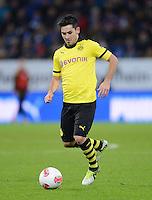 FUSSBALL   1. BUNDESLIGA   SAISON 2012/2013   17. SPIELTAG   TSG 1899 Hoffenheim - Borussia Dortmund      16.12.2012           Ilkay Guendogan (Borussia Dortmund) am Ball