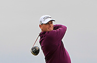 David Drysdale (SCO) on the 17th tee during Round 4 of the 2015 Alfred Dunhill Links Championship at the Old Course in St. Andrews in Scotland on 4/10/15.<br /> Picture: Thos Caffrey | Golffile