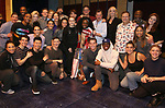 """The cast During the Actors' Equity Opening Night Legacy Robe honoring Vasthy Mompoint for """"The Prom"""" at The Longacre Theatre on November 15, 2018 in New York City."""