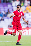 Anas Bani-Yaseen of Jordan celebrates scoring the goal during the AFC Asian Cup UAE 2019 Group B match between Australia (AUS) and Jordan (JOR) at Hazza Bin Zayed Stadium on 06 January 2019 in Al Ain, United Arab Emirates. Photo by Marcio Rodrigo Machado / Power Sport Images