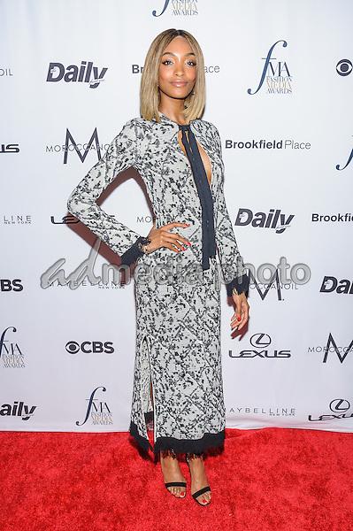 08 September 2016 - New York, New York- Jourdan Dunn. Daily Front Row's Fourth Annual Fashion Media Awards. Photo Credit: Mario Santoro/AdMedia