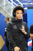 Leroy Sane (Deutschland Germany) kommt an - 16.10.2018: Frankreich vs. Deutschland, 4. Spieltag UEFA Nations League, Stade de France, DISCLAIMER: DFB regulations prohibit any use of photographs as image sequences and/or quasi-video.