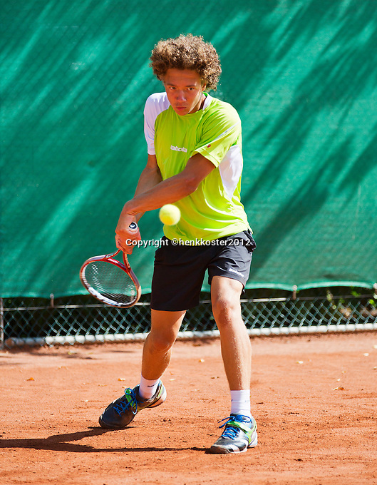 10-08-12, Netherlands, Hillegom, Tennis, NJK, 10-08-12, Netherlands, Hillegom, Tennis, NJK,  Casper Bonapart