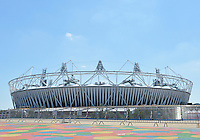 July 22, 2012..View of the 2012 Olympics Stadium located in the Olympics Park in London, United Kingdom.