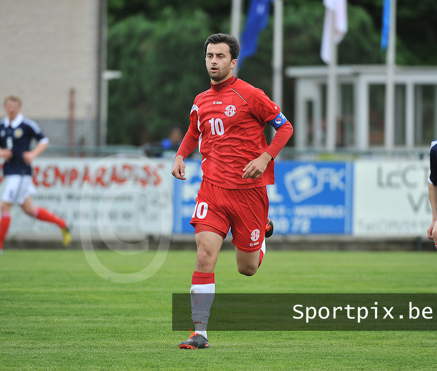 Scotland U19 - Georgia U19 : Bachana Arabuli.foto DAVID CATRY / Nikonpro.be