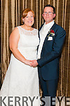 Myriam Frazer, daughter of Bill and Rosaleen from Lahinch, Co. Clare, and Morgan Mc Sweeney, Son of Murcadh and Eileen from Coolea, Co. Cork who were married on March 20th in St Gobnaits Church, Coolea, Co. Cork. Fr Donal O'Brien officiated at the ceremony. Best Man was Padraig Mc Sweeney and groomsmen was Danjoe Mc Sweeney. Bridesmaids were Emma Frazer and Anne- Marie Fitzgerald. Flowergirls were Muireann Mc Sweeney and Metasebiya Mc Sweeney. Pageboy was Aodhna Begley. The reception was held at the Oaks Hotel, Killarney last Friday night and the couple will reside in Coolea, Macroom, Co. Cork.