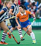 BLOEMENDAAL  - Hockey -  finale KNHB Gold Cup dames, Bloemendaal-HDM . Bloemendaal wint na shoot outs. Pili Romang (Bldaal) . COPYRIGHT KOEN SUYK