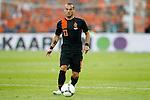 Nederland, Rotterdam, 30 mei 2012.Oefeninterland .Nederland-Slowakije .Wesley Sneijder van Nederland in actie met bal