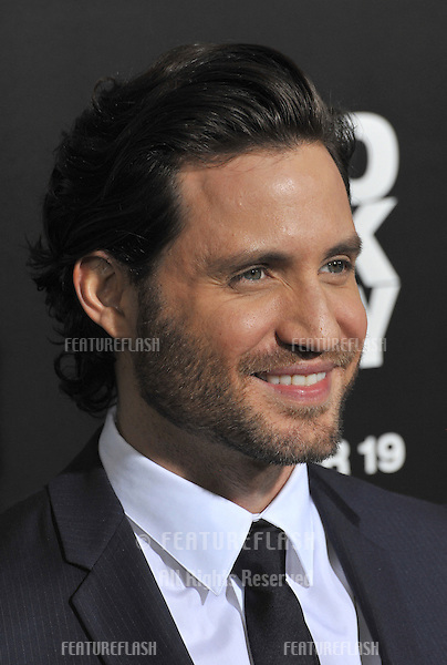 "Edgar Ramirez at the premiere of his movie ""Zero Dark Thirty"" at the Dolby Theatre, Hollywood..December 10, 2012  Los Angeles, CA.Picture: Paul Smith / Featureflash"