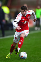 Fleetwood Town's Wes Burns in action<br /> <br /> Photographer Richard Martin-Roberts/CameraSport<br /> <br /> The EFL Sky Bet League One - Fleetwood Town v Plymouth Argyle - Saturday 16th March 2019 - Highbury Stadium - Fleetwood<br /> <br /> World Copyright © 2019 CameraSport. All rights reserved. 43 Linden Ave. Countesthorpe. Leicester. England. LE8 5PG - Tel: +44 (0) 116 277 4147 - admin@camerasport.com - www.camerasport.com