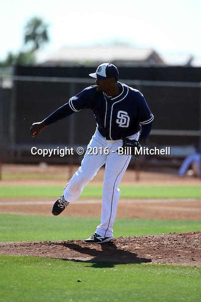 Fabio Castillo - San Diego Padres 2016 spring training (Bill Mitchell)