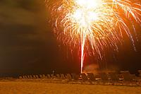 TAE- Ritz-Carlton Fireworks Display at Beach, Grand Cayman 5 19