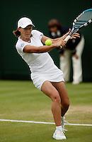 26-6-06,England, London, Wimbledon, first round match, miss K. Flipkens