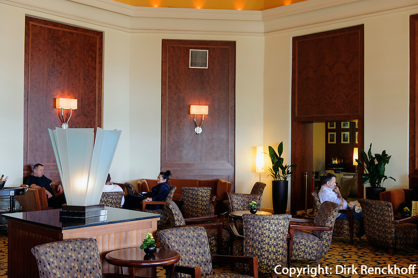 Lobby im Grandhotel in Sopot (Zoppot), Woiwodschaft Pommern (Wojew&oacute;dztwo pomorskie), Polen, Europa<br /> Lobby in Grandhotel in Sopot, Poland, Europe