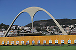 General view of Sambodromo, <br /> AUGUST 1, 2016 - Archery : <br /> Official training <br /> at Sambodromo <br /> during the Rio 2016 Olympic Games in Rio de Janeiro, Brazil. <br /> (Photo by YUTAKA/AFLO SPORT)