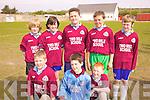 The team from Two Mile School at the Primary schools 5 a-side competition in St Brendans Park on Thursday last were front l-r; Conor Coffey, Cian O'Sullivan, Shane O'Sullivan, back l-r; Corey Kissane, Dean O'Sullivan, Ewan Weldon, David Clifford & John Murphy.