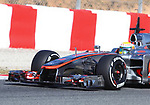 21.02.2012 Barcelona Spain. Formula One testind day1. Vodafone Mclaren Mercedes with English driver Lewis Hamilton