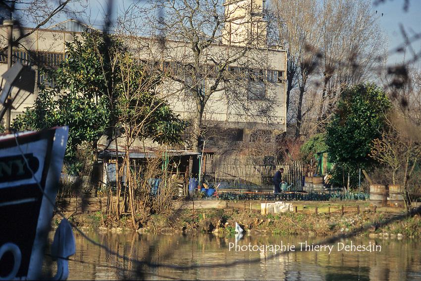 Issy Les Moulineaux, 1999, Pointe de l'Ile St Germain, Ile Seguin