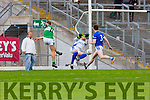 Gary Kissane Kerins O'Rahillys keeper saves  Legions James O'Donoghue shot during their County Championship quarter final in Fitzgerald Stadium on Saturday