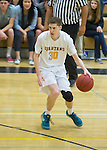 Mountain View Varsity Boys Basketball vs. Saratoga at Mtn. View.  January 8, 2016