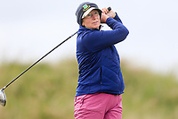 Honoria Fogarty (Castlecomer) during the 2nd round of the Irish Women's Open Stroke Play Championship, Enniscrone Golf Club, Enniscrone, Co. Sligo. Ireland. 16/06/2018.<br /> Picture: Golffile | Fran Caffrey<br /> <br /> <br /> All photo usage must carry mandatory  copyright credit (© Golffile | Fran Caffrey)