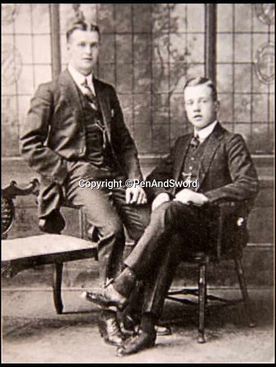 BNPS.co.uk (01202 558833)<br /> Pic: PenAndSword/BNPS<br /> <br /> William George Edward and John Henry Wright &ndash; Both these brothers were killed on 1st July 1916 whilst serving with the London Regiment (Royal Fusiliers).<br /> <br /> Faces finally put to the lost souls of the Western Front...<br /> <br /> A dedicated couple have spent 10 years tracking down the family histories of some of the 72,000 British troops still 'missing' from the Somme.<br /> <br /> Ken and Pam Linge from Northumberland have spent 10 years researching the thousands of British soldiers who were lost during the ill-fated offensive of 1916, and have finally put faces to some of the names engraved in history.<br /> <br /> They have also revealed the fascinating stories and diverse backgrounds behind some of the men who are listed on Lutyen's famous Thiepval Memorial in France as having no known grave.<br /> <br /> Their work has resulted in a new book titled 'Missing But Not Forgotten' that documents 230 of these men.