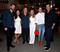 ABC/DISNEY TELEVISION STUDIOS/FX/NAT GEO PARTY AT SAN DIEGO COMIC-CON© 2019: L-R: David Bernad, EP, Stumptown, Ming-Na Wen, Marvel Television's Jeph Loeb, President, ABC Entertainment Karey Burke, Cobie Smulders and Nathan Fillion attend the ABC/Disney Television Studios/FX/NatGeo Party on Friday, July 19 at at the Pendry Hotel Rooftop at SAN DIEGO COMIC-CON© 2019. CR: Frank Micelotta/Disney Television Studios © 2019 Disney Television Studios