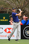 Martin Kaymer teeing off on the 14th tee on day two of the Abu Dhabi HSBC Golf Championship 2011, at the Abu Dhabi golf club, UAE. 21/1/11..Picture Fran Caffrey/www.golffile.ie.