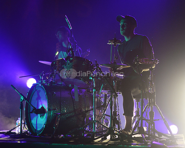 FORT LAUDERDALE FL - DECEMBER 08: Joe Seaward of Glass Animals performs at Revolution on December 8, 2015 in Fort Lauderdale, Florida. Credit: mpi04/MediaPunch