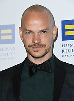 10 March 2018 - Los Angeles, California - Peter Paige. The Human Rights Campaign 2018 Los Angeles Dinner held at JW Marriott LA Live.  <br /> CAP/ADM/BT<br /> &copy;BT/ADM/Capital Pictures