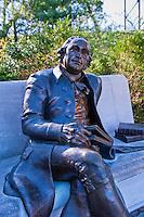 George Mason Memorial, Bronze Statue, Washington D.C. District of Columbia,