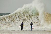 Coolangatta, Queensland. Thursday June 2, 2011. A solid 2 meter swell was hitting the southern end of the Gold Coast today with Snapper Rocks breaking through to Coolangatta the pick of the breaks.  Photo: joliphotos.com