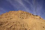 Israel, Judean desert, Masada, a world heritage site