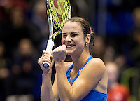 Rotterdam, Netherlands, December 18, 2016, Topsportcentrum, Lotto NK Tennis,  Bibiane Schoofs National Champion <br /> Photo: Tennisimages/Henk Koster