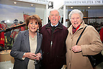 celebration of the full accreditation status of Millmount Museum were Olive McMahon, Johnny Gregory and Bernie Gregory<br /> Picture: Fran Caffrey www.newsfile.ie
