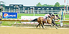 Fiery Rockette winning at Delaware Park on 6/120/12